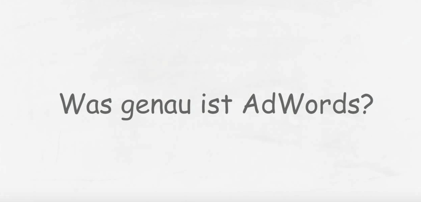 Was ist Google Adwords